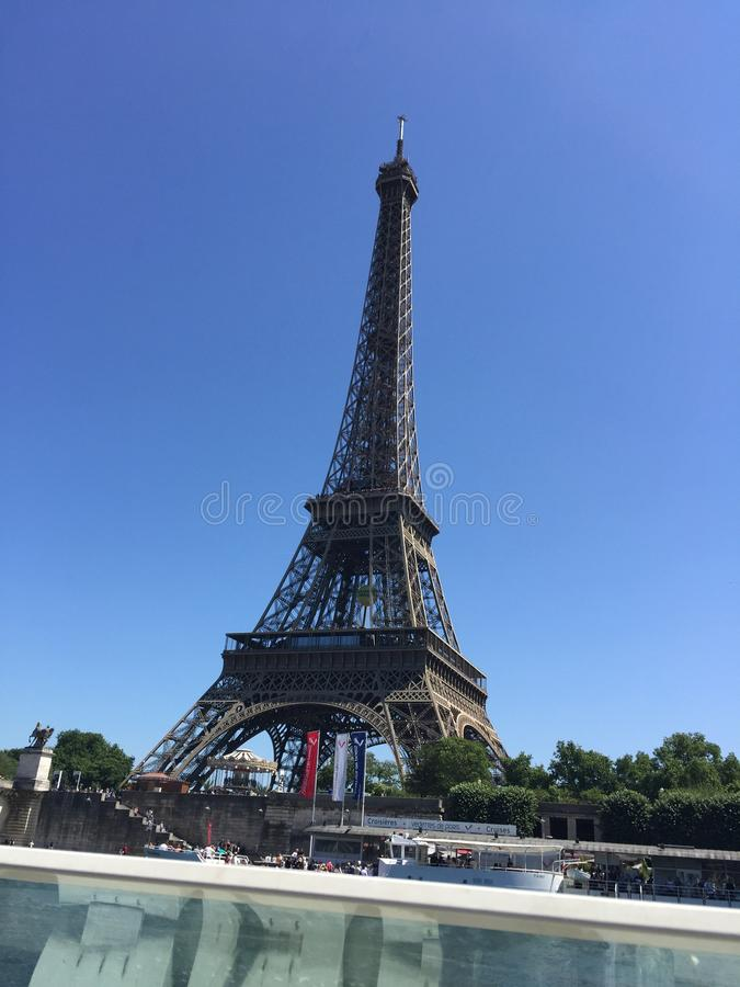 Excursion Eiffel photographie stock