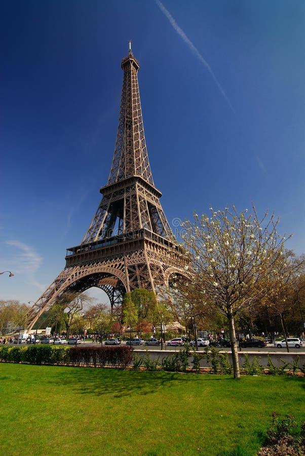 Excursion Eiffel de Paris image libre de droits