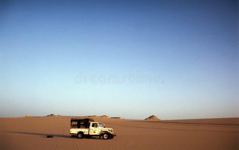 Excursion occidentale du désert de l'Egypte photos stock