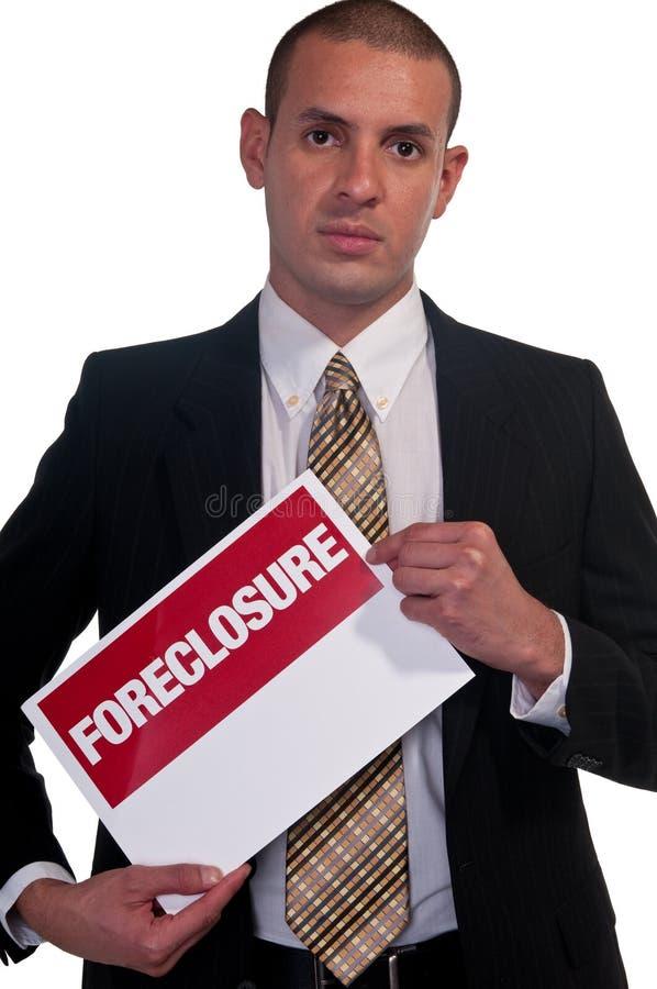 Execução duma hipoteca imagens de stock