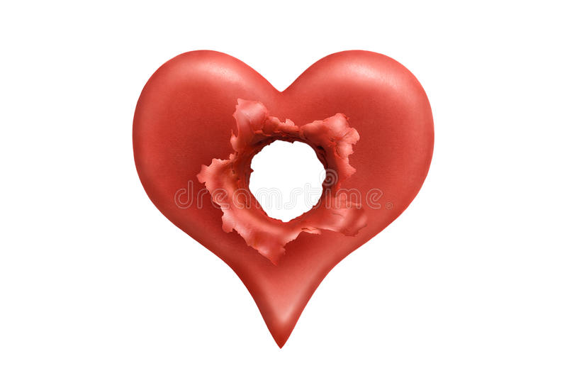 Download Executed heart 2 stock illustration. Image of abstract - 21228459