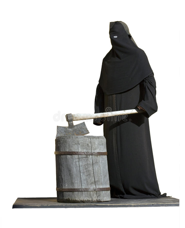 Download The Executioner With An Axe. Stock Photo - Image: 26618478