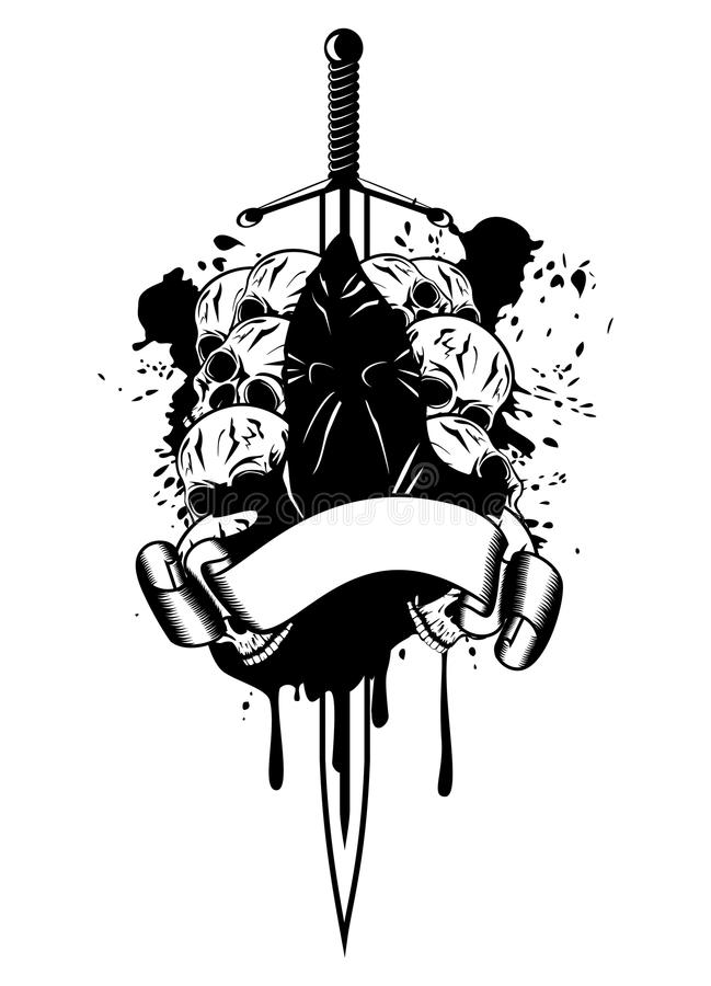 Download Executioner s stock vector. Image of punishment, punisher - 26046133