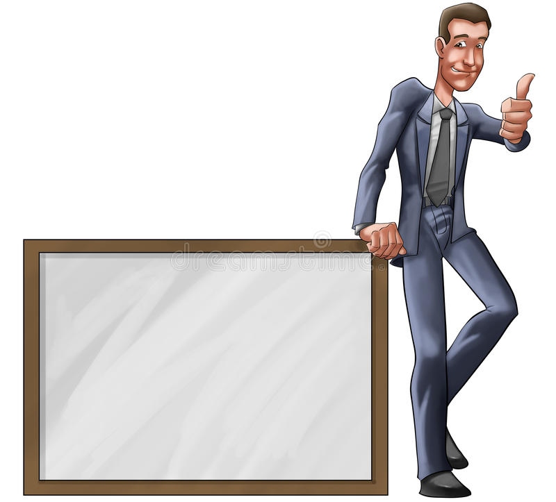 Download The executive stock illustration. Image of marketing - 16478931
