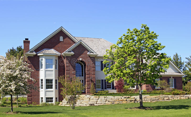 Executive Brick Estate royalty free stock images