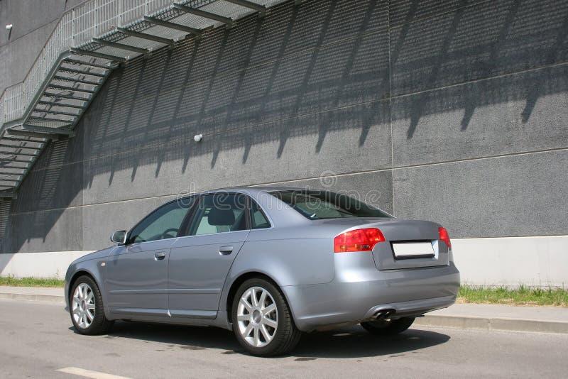 Executive car. Rear shot of audi a4 s-line stock images