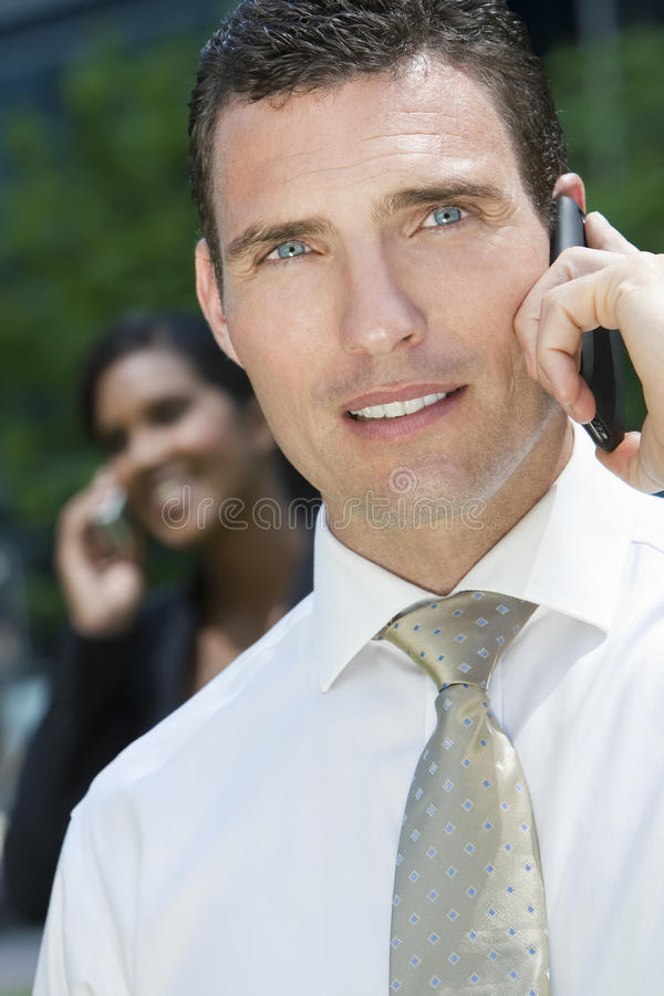 Download Executive Communication stock image. Image of handsome - 9546187