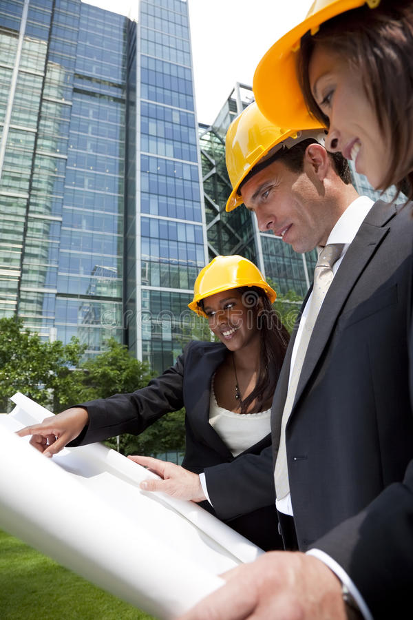 Download Executive Construction Team Stock Photo - Image: 9638366