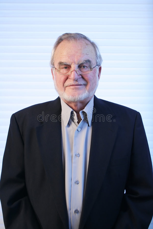 Executive Head Shot royalty free stock photos