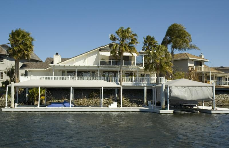 Download Executive House On The Water Stock Image - Image: 2209351