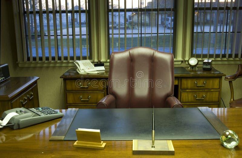 executive kontor arkivfoton