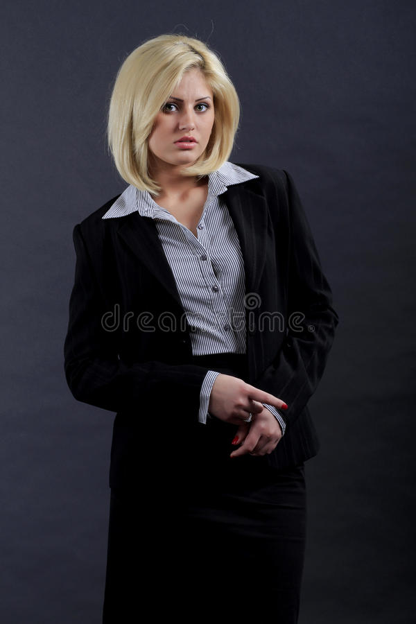 Executive kvinna arkivbilder
