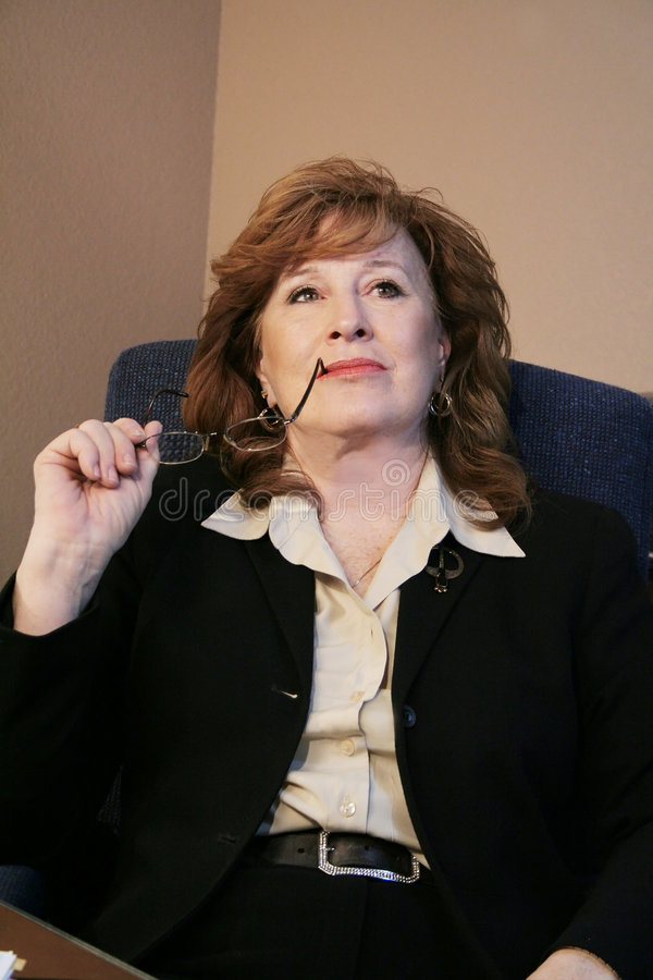 executive kvinna royaltyfri fotografi
