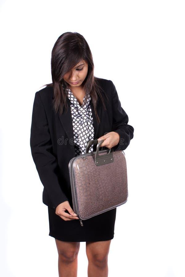 Executive Luggage stock photography