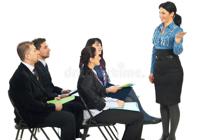 Download Executive Making Presentation At Conference Stock Photography - Image: 17999742