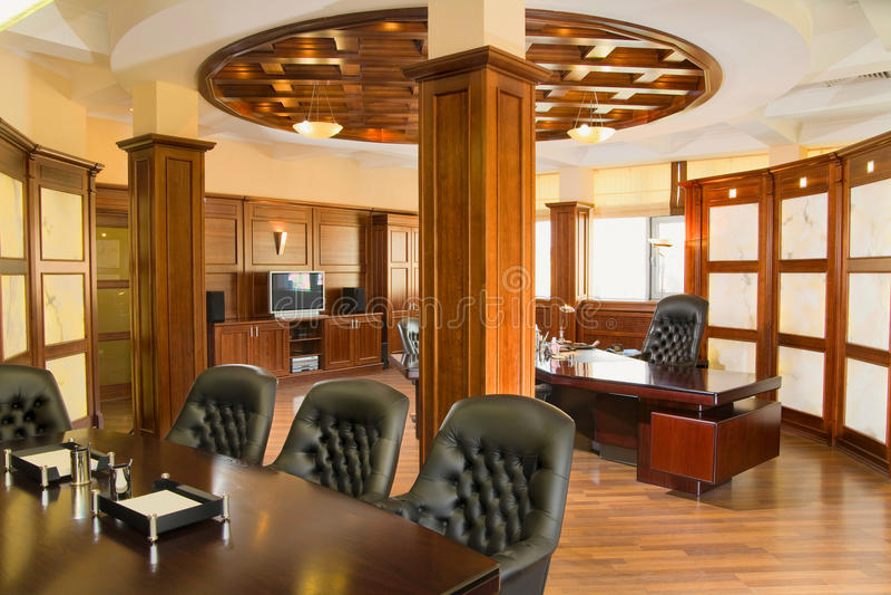 Executive office stock photo