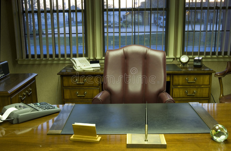 Executive office stock photos