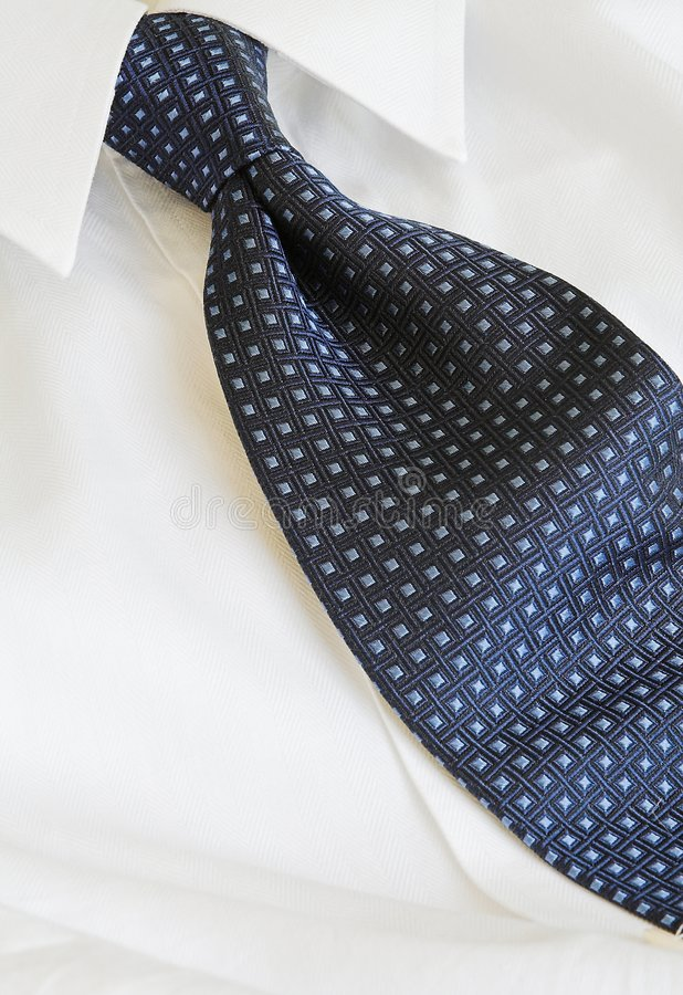 Executive shirt and tie royalty free stock images