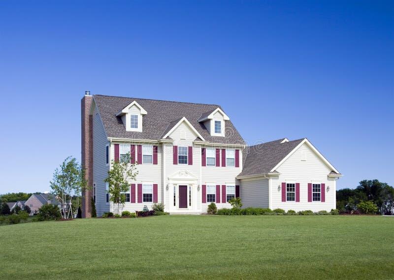 Executive Three Story Home stock image