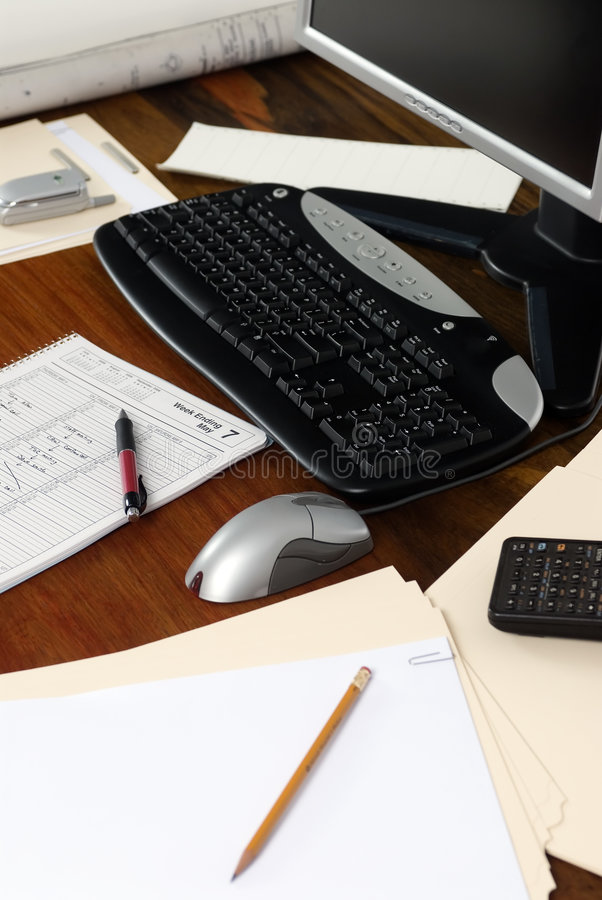 Free Executive Workdesk 4 Royalty Free Stock Image - 1429656