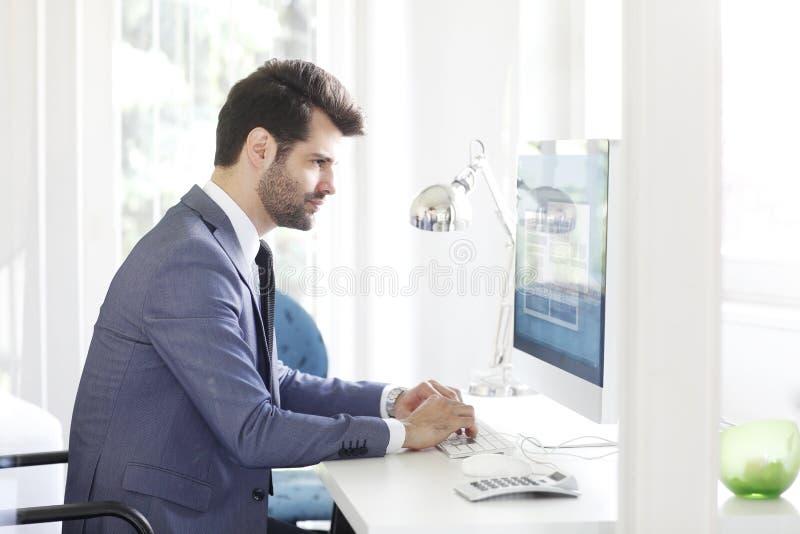 Executive young professional man royalty free stock photos