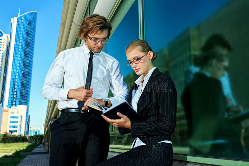 Download Executives stock image. Image of handsome, lady, manager - 28590339