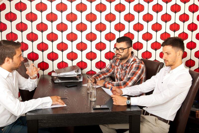 Download Executives Having Meeting Royalty Free Stock Image - Image: 31602326
