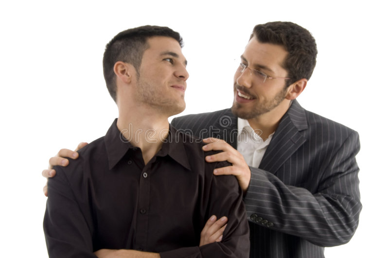 executives negotiating successful young στοκ φωτογραφία με δικαίωμα ελεύθερης χρήσης