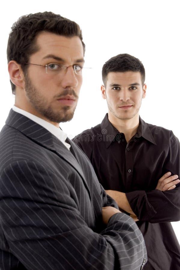 executives posing successful young στοκ φωτογραφίες