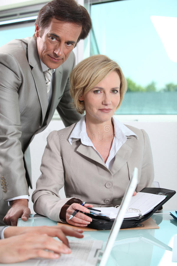 Download Executives Scheduling Next Meeting Royalty Free Stock Photography - Image: 26794187