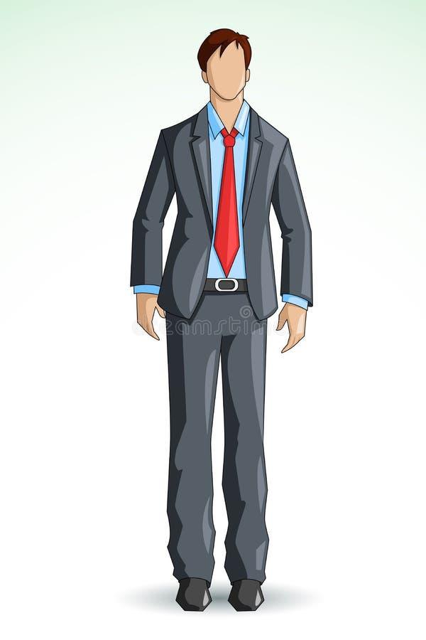 Executivo empresarial ilustração stock