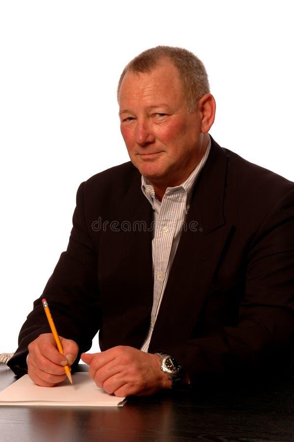 Executivo empresarial foto de stock