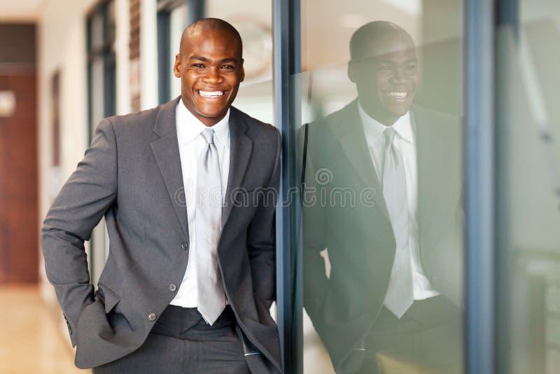 Executivo empresarial africano fotografia de stock