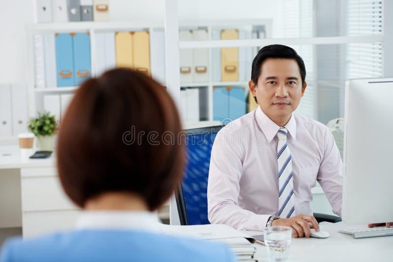Executivo empresarial asiático foto de stock royalty free