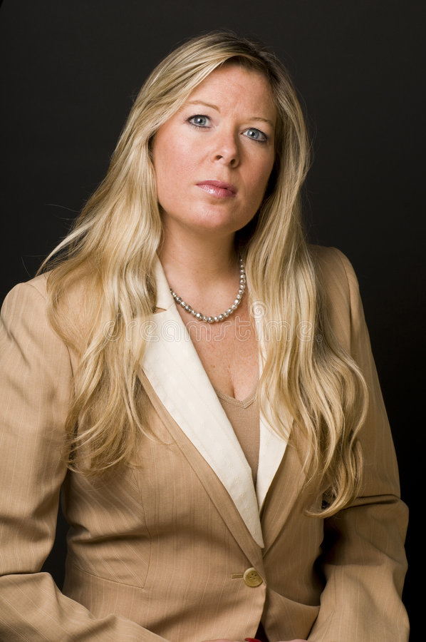 executivo empresarial do sénior da mulher imagens de stock royalty free