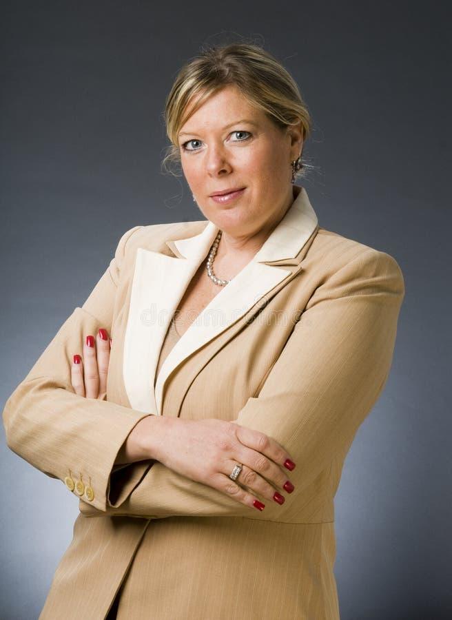 executivo empresarial do sénior da mulher adulta foto de stock royalty free