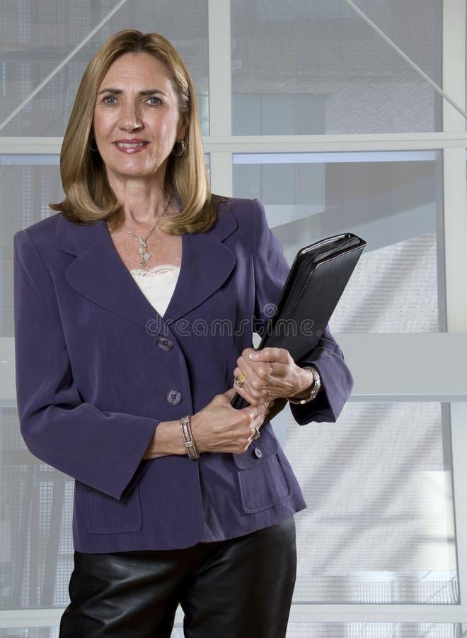 Executivo empresarial fêmea fotografia de stock