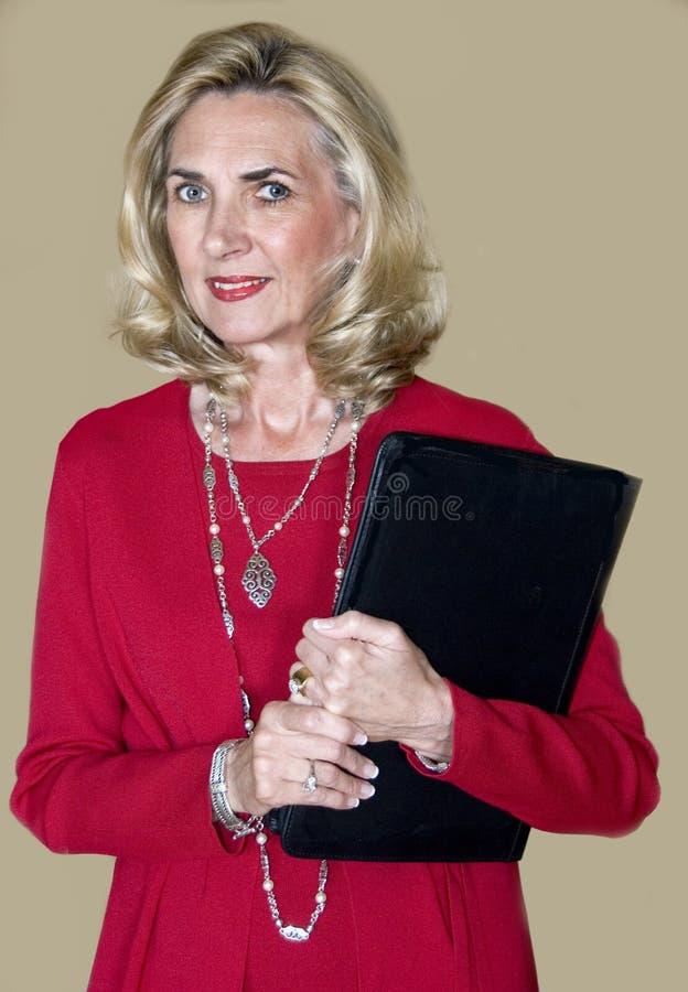 Executivo fêmea 2 imagem de stock