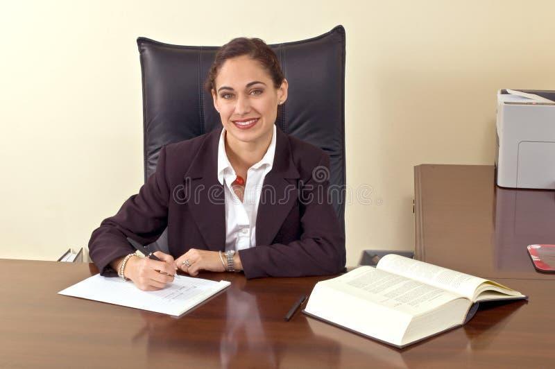 Executivo fêmea foto de stock royalty free