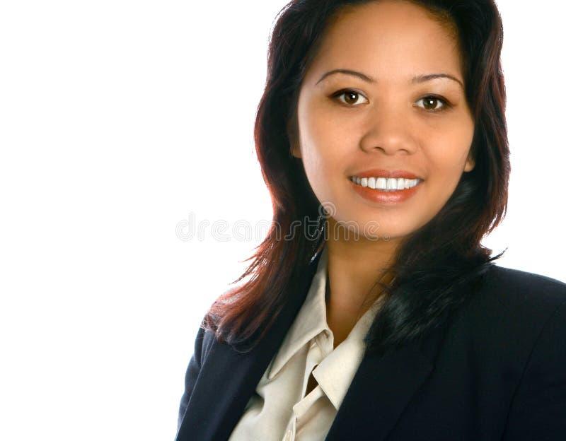 Executivo fêmea asiático imagem de stock