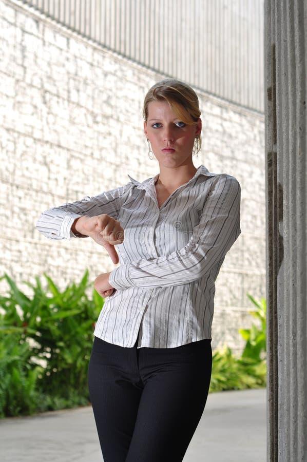 Executivo fêmea caucasiano corporativo imagens de stock