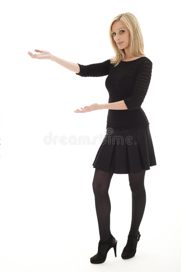 Executivo fêmea 'sexy' foto de stock royalty free