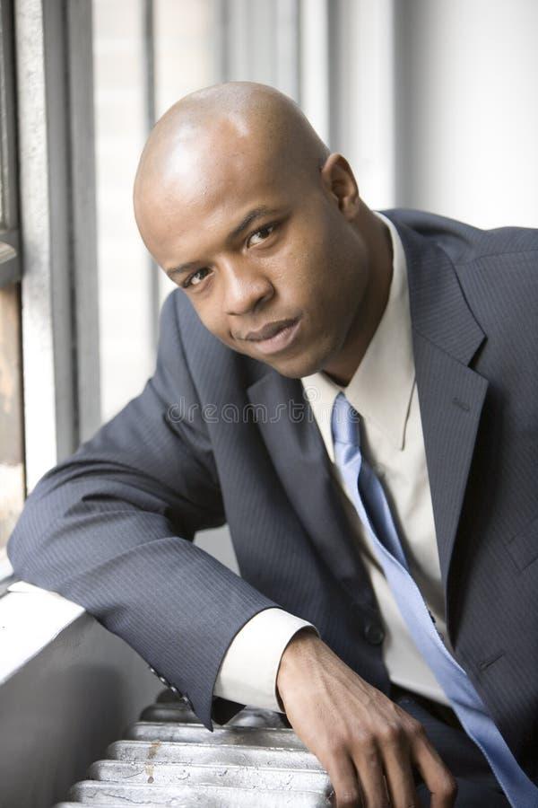 Executivo por seu indicador fotos de stock