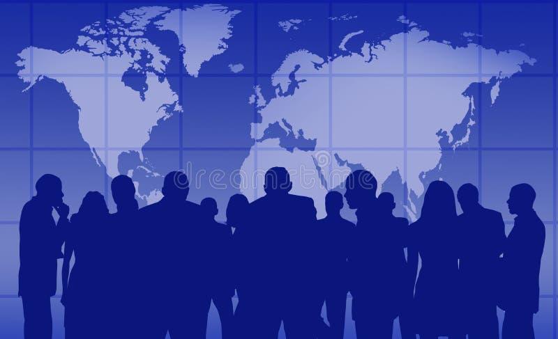 Executivos ilustração stock