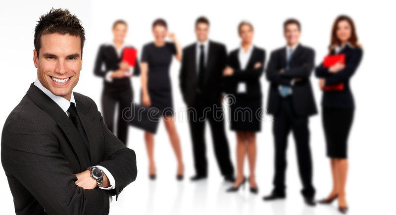 Executivos foto de stock