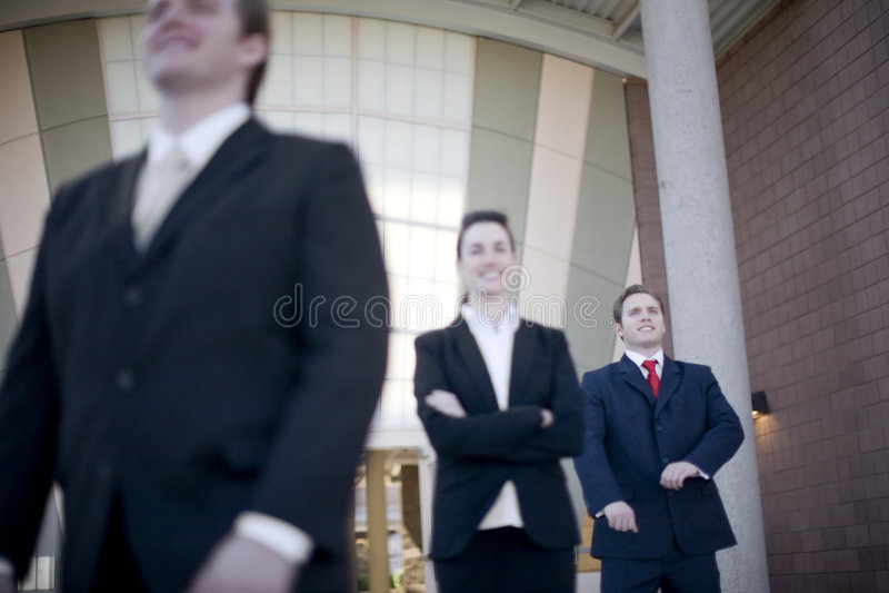 Executivos foto de stock royalty free
