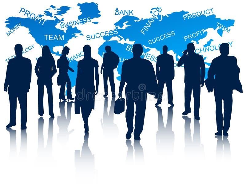 Executivos ilustração do vetor