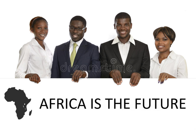 Executivos africanos foto de stock royalty free