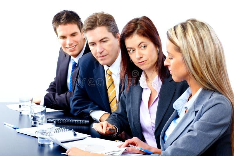 Download Executivos da equipe foto de stock. Imagem de azul, pessoa - 12811868