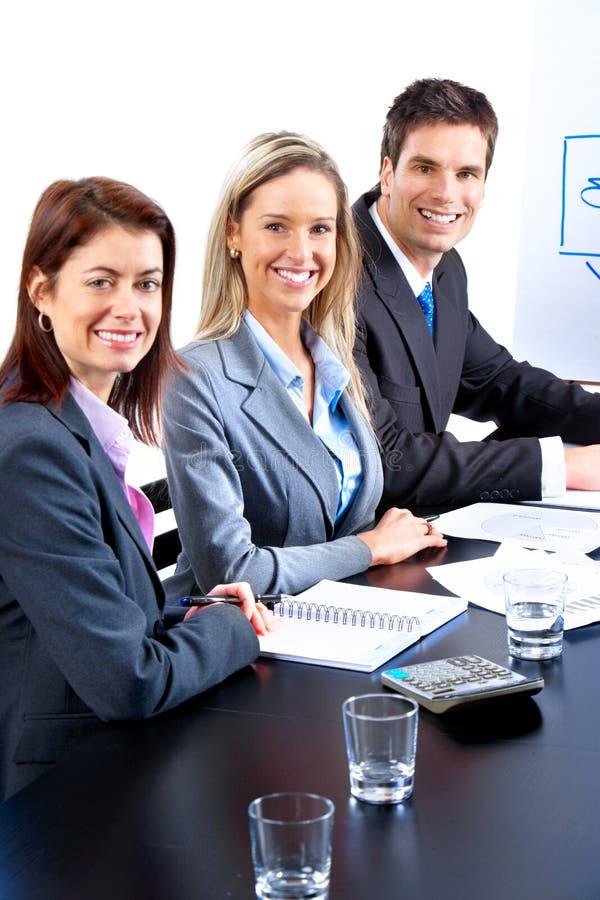 Download Executivos da equipe imagem de stock. Imagem de azul - 12811997